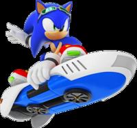 Sonic-Free-Riders-Sonic-artwork