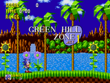 Green Hill Zone (Sonic the Hedgehog) (1991)
