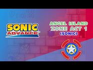 Angel Island Zone Act 1 (Sonic) - Sonic Advance