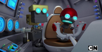 Orbot drives the egg tank