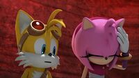 SB S1E13 Tails Amy frustrated