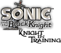 SonicKnightInTrainingLogo