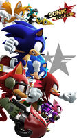 Sonic Forces Heroes Wallpaper -1440x2560-
