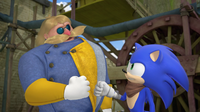 Steve and Sonic