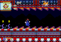 Tails being bored of Sonic having fun