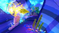 Rocket Underwater