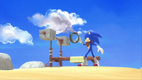 SB S1E08 Sonic Knuckles workout station