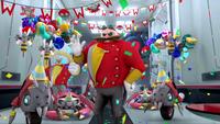 SB S1E10 Eggman badniks surprise party