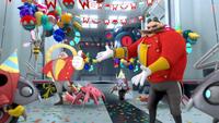 SB S1E10 Eggman surprise party