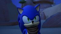 SB S1E12 Sonic was so very brave