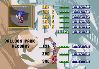 Sonic 3 Competition screen 6