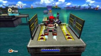 Sonic_Adventure_2_(PS3)_Weapons_Bed_Mission_3_A_Rank