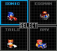 Sonic Drift Menu 2