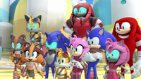 Team Sonic and Team Cybonic