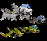 SA Model Sky Chase Enemies