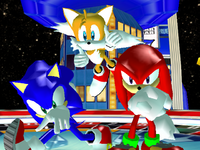 Result Screen - Casino Ring - Team Sonic