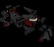 Sonic 06 Model Hovercraft