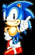 Sonic 1 (pose)