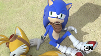 Sonic stakeout