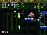 Super Knuckles (Mundo de Classic Sonic)