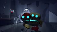 SB S1E08 Orbot Cubot cower