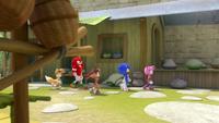 SB S1E13 Team Sonic walk village