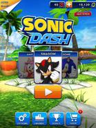 Sonic Dash screen 12