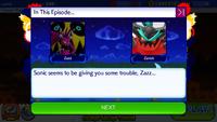 Sonic Runners Zazz Raid event Zavok Cutscene (2)