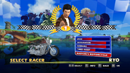 Sonic and Sega All Stars Racing character select 09