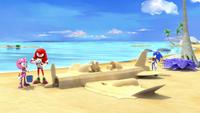 SB S1E15 Team Sonic sand plane