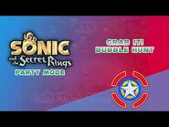 Grab it! Bubble Hunt - Sonic and the Secret Rings (Party Mode)