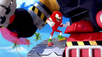 SB S1E19 Knuckles punch Giant Robot