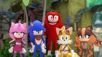 SB S1E37 Team Sonic stare