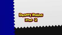Desert Ruins A2 Title Card Wii U