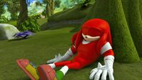 S1E44 Knuckles knocked out