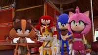 SB S1E05 Team Sonic unamused