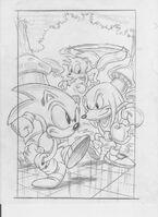 Sonic & Knuckles Greg Martin concept