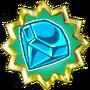 Cyan Chaos Emerald