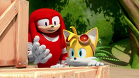 SB S1E45 Tails and Knuckles crates