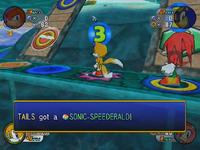 Sonic-Speederald in-game
