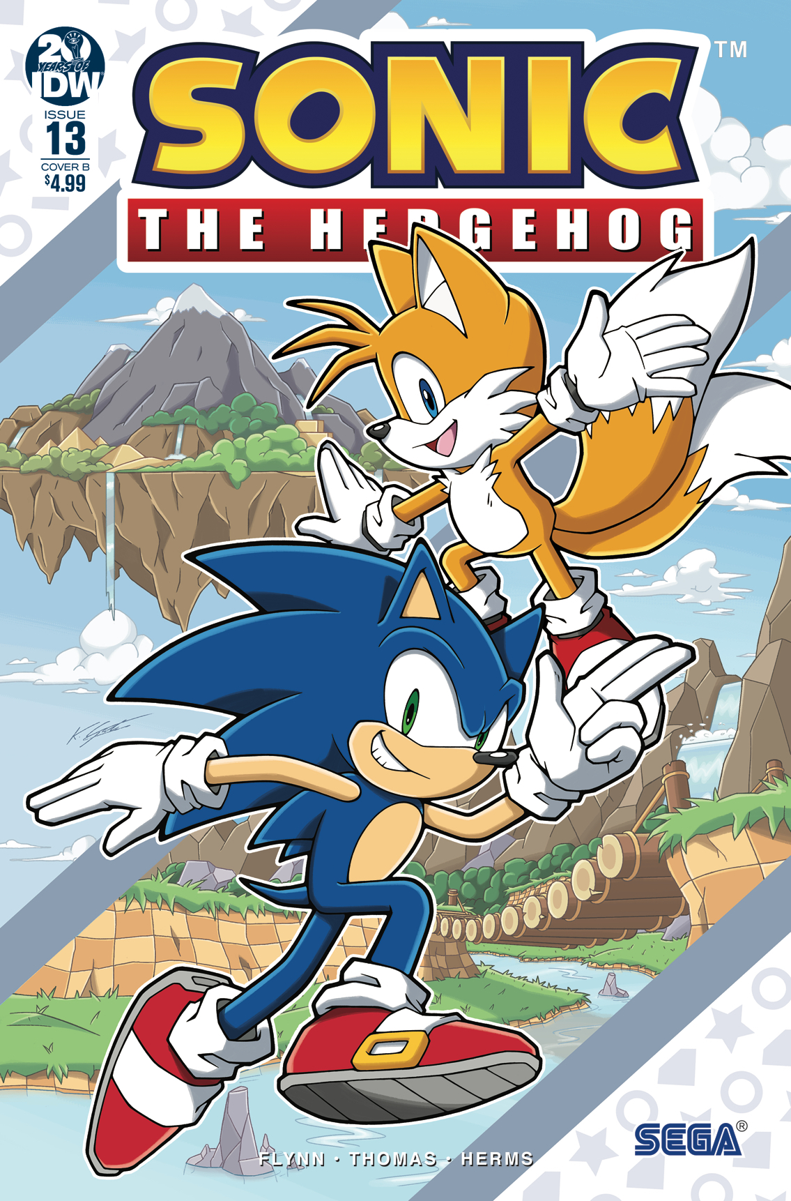 IDW Sonic the Hedgehog Issue 13
