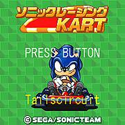 Sonic Racing Kart 1