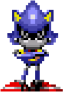 Metal Sonic CD sprite idle