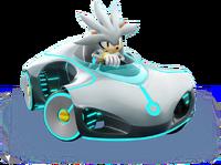 Sonic Racing Silver
