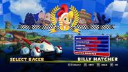 Sonic and Sega All Stars Racing character select 03