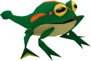 Speed Battle Model Froggy