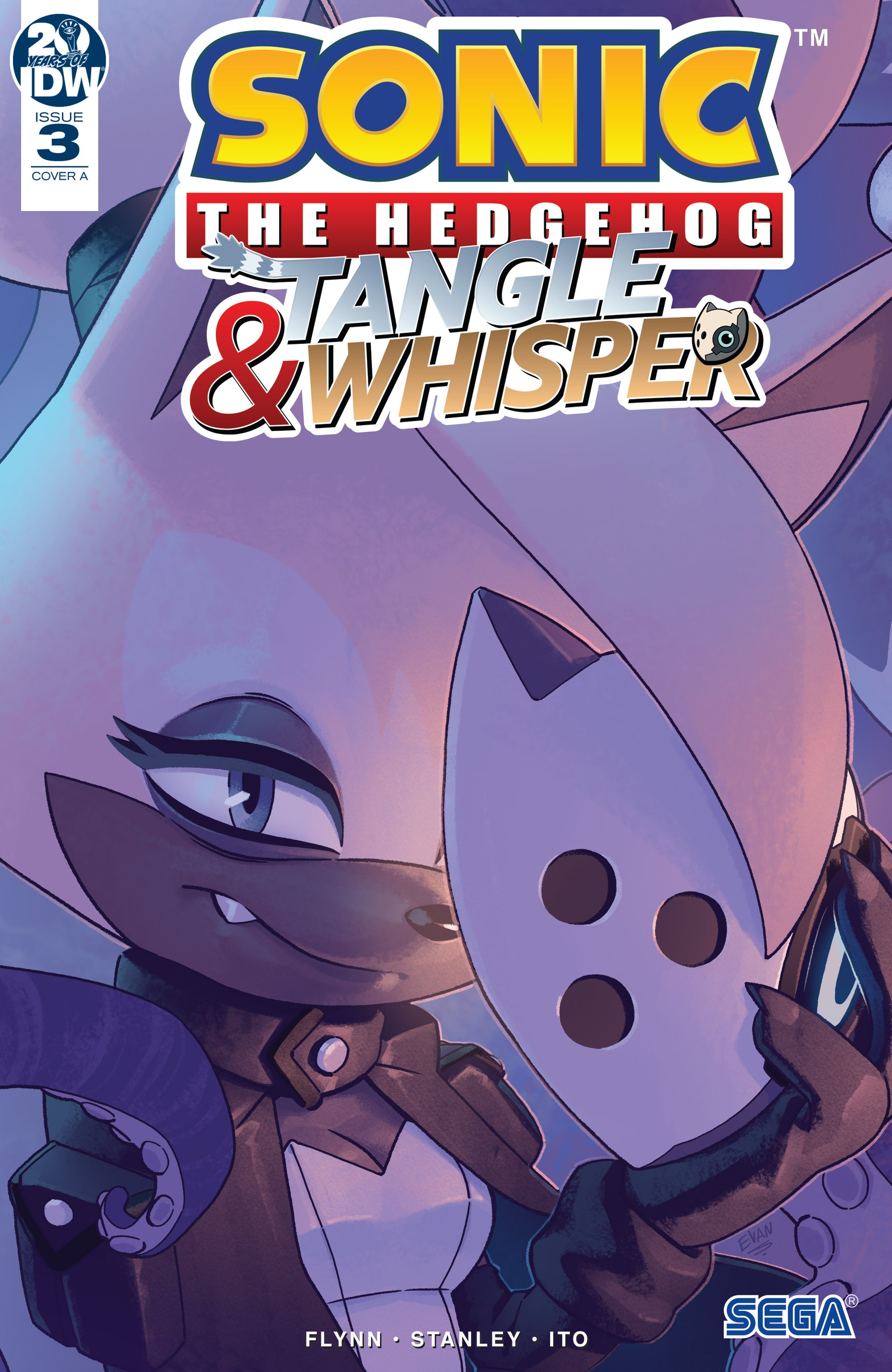 Sonic the Hedgehog: Tangle & Whisper Issue 3