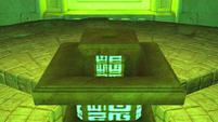 Templeinteriorpedistal