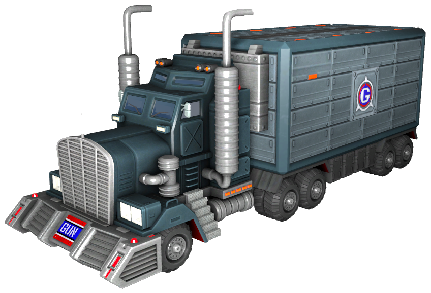 GUN Military Truck