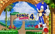 Sonic 4 tapeta 1